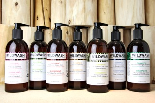 We use WildWash - a 100% natural pet shampoo
