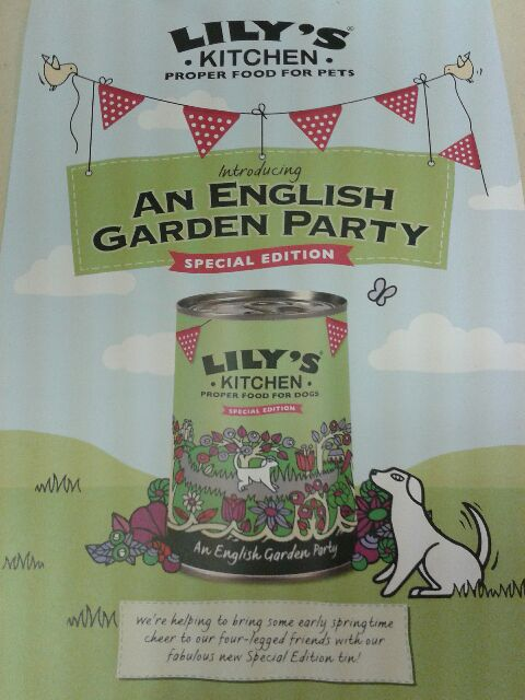 Lily's Kitchen English Garden Party Special Edition Dog food - available at Chiswick Pets