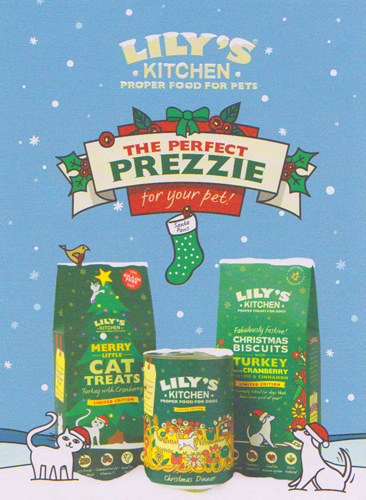 Lilly's Kitchen Christmas range for Cats and Dogs