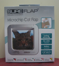 Sureflap Microchip Cat Flap - Available now at Chiswick Pets></font><font size=