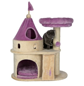 Trixie Princess Castle Cat Scratcher - now available at Chiswick Pets